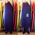 [CHRISTENSON SURFBOARDS] TWIN-FISH  5'10""