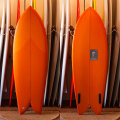 [CHRISTENSON SURFBOARDS] TWIN FISH  5'4""