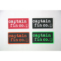 [CAPTAIN FIN Co.]  4 STICKER PACK