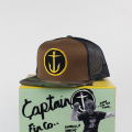[CAPTAIN FIN Co.] OG ANCHOR Premium Trucker Hat Camo