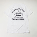[CAPTAIN FIN Co.] TUNA BURGER S/S  PRE TEE