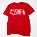 [CAPTAIN FIN Co.] NAVAL HAND PRE TEE / RED
