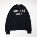 [CAPTAIN FIN Co.] SURFERS SUCK CREW FLEECE
