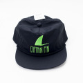 [CAPTAIN FIN Co.] SHARK FIN 5 PANEL HAT Black/Green