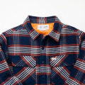 [CAPTAIN FIN Co.] SIMPLE JACK QUITED FLANNEL