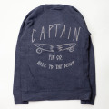 [CAPTAIN FIN Co.] BROKEN SKATE RAGLAN CRW FLEECE