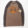 [CAPTAIN FIN Co.] CIRCLE ANCHOR Premium Baseball T-Shirt