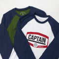 [CAPTAIN FIN Co.] ADVENTURE AWAITS Premium Baseball T-Shirt