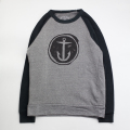 [CAPTAIN FIN Co.] DISTRESSED ANCHOR Premium Crew Sweatshirt
