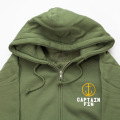 [CAPTAIN FIN Co.] ADVENTURE AWAITS Zip Hooded Sweatshirt