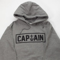 [CAPTAIN FIN Co.] NAVAL FIN Hooded Sweatshirt - Gunmetal Heather