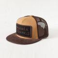 [CAPTAIN FIN Co.] TYPE PATCH Adjustable Trucker Hat - Brown