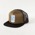[CAPTAIN FIN Co.] DRINK FUN Adjustable Trucker Hat - Olive