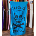 [CAPTAIN FIN Co.] SKULL N SPIKES Towel Turquoise