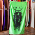[CAPTAIN FIN Co.] GRIM SKATE Towel Lime Green