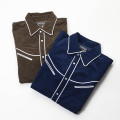 [CAPTAINS HELM TOKYO] CORDUROY WESTERN SHIRTS