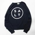 [salt surfl]  RAGLAN SWEAT SOLT LOGO
