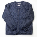[THE HARD MAN] Wave Quilt Zipup Cardigan