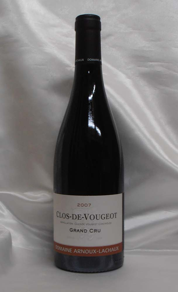 【2007】Clos-de-Vougeot G.C. クロ・ド・ヴージョ・グラン・クリュ (arnoux-lachaux/アルヌー・ラショー)750ml ※蔵出し