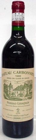 【1986】Ch.Carbonnieux Rouge/シャトー・カルボニュー・ルージュ 750ml
