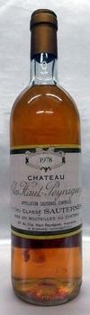 【1978】Ch. Clos Haut Pey Raguey/シャトー・クロ・オー・ペイ・ラゲィ 750ml