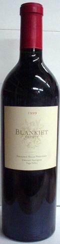 【1999】Blankiet Estate Cabernet Sauvignon/ブランキエ・エステート・カベルネ・ソーヴィニヨン750ml