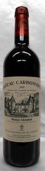 【2002】Ch.Carbonnieux Rouge/シャトー・カルボニュー・ルージュ 750ml