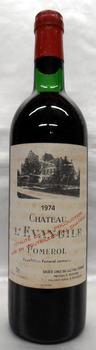[1974] Ch. L'Evangileシャトー・レヴァンジル 750ml
