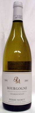 【1998】Bourgogne Chardonney ブルゴーニュ・シャルドネ (Pierre Morey/ピエール・モレ)750ml