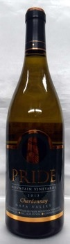 Pride Mountain Vineyards Chardonnay Napa County プライド・マウンテン・ヴィンヤード・シャルドネ・ナパ・カウンティ【2013】750ml