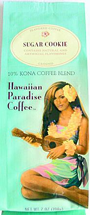 Hawaiian Paradise Coffee/シュガークッキー 7oz(198g)