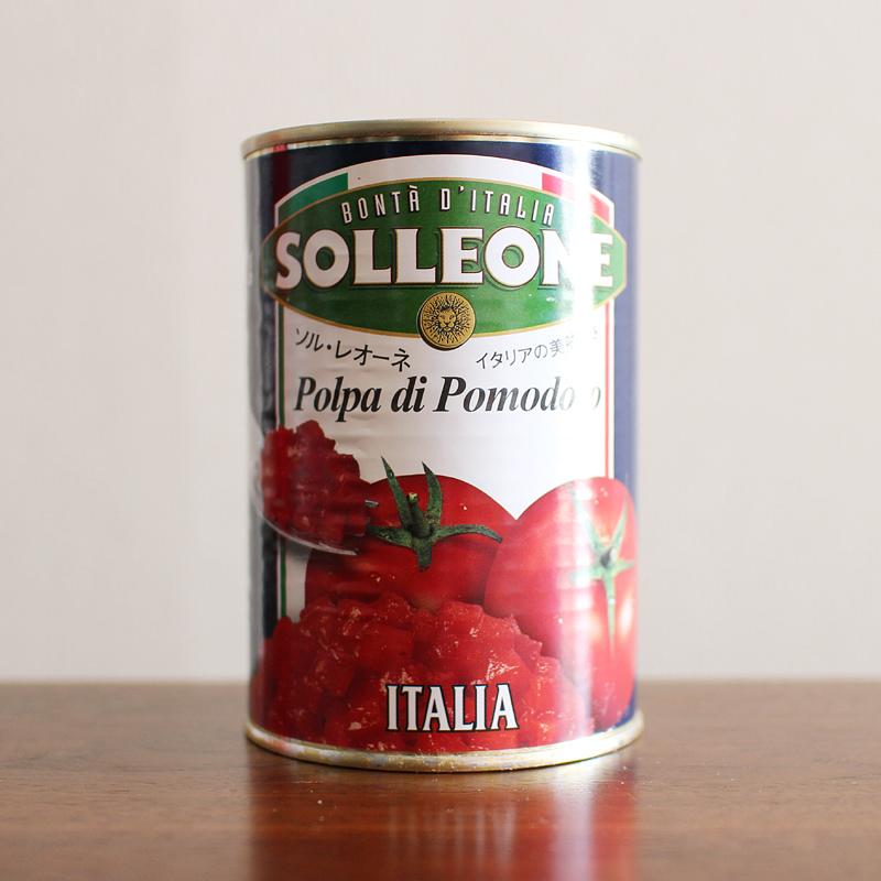 インドカレーにぴったりのトマト缶