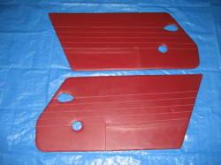 '67SR311用ドア内張り 赤 左右セット アメリカ製