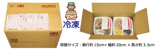 容器サイズは縦15cm 横20cm 高さ3.3cmと小さく、保管も便利です。