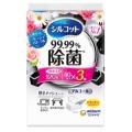 ユニチャーム シルコット 99.99%除菌 ウェットティッシュ フレッシュフローラルの香り つめかえ40枚×3個パック (1506-0408)