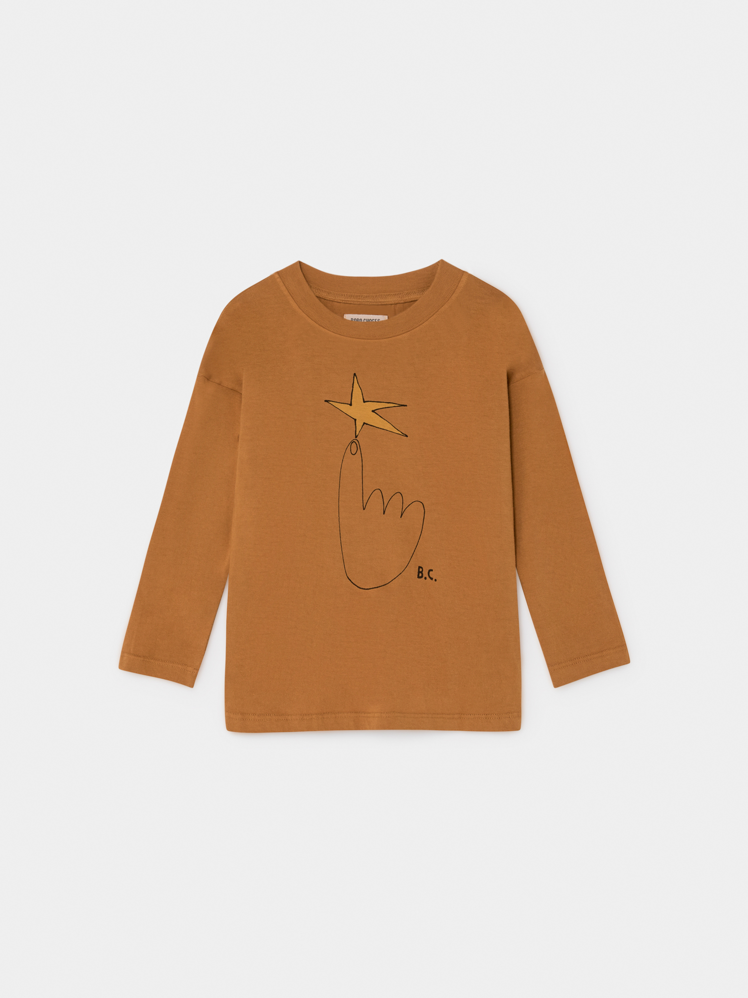 【BOBOCHOSES】219011 THE NORTHSTAR LONG SLEEVE T-SHIRT