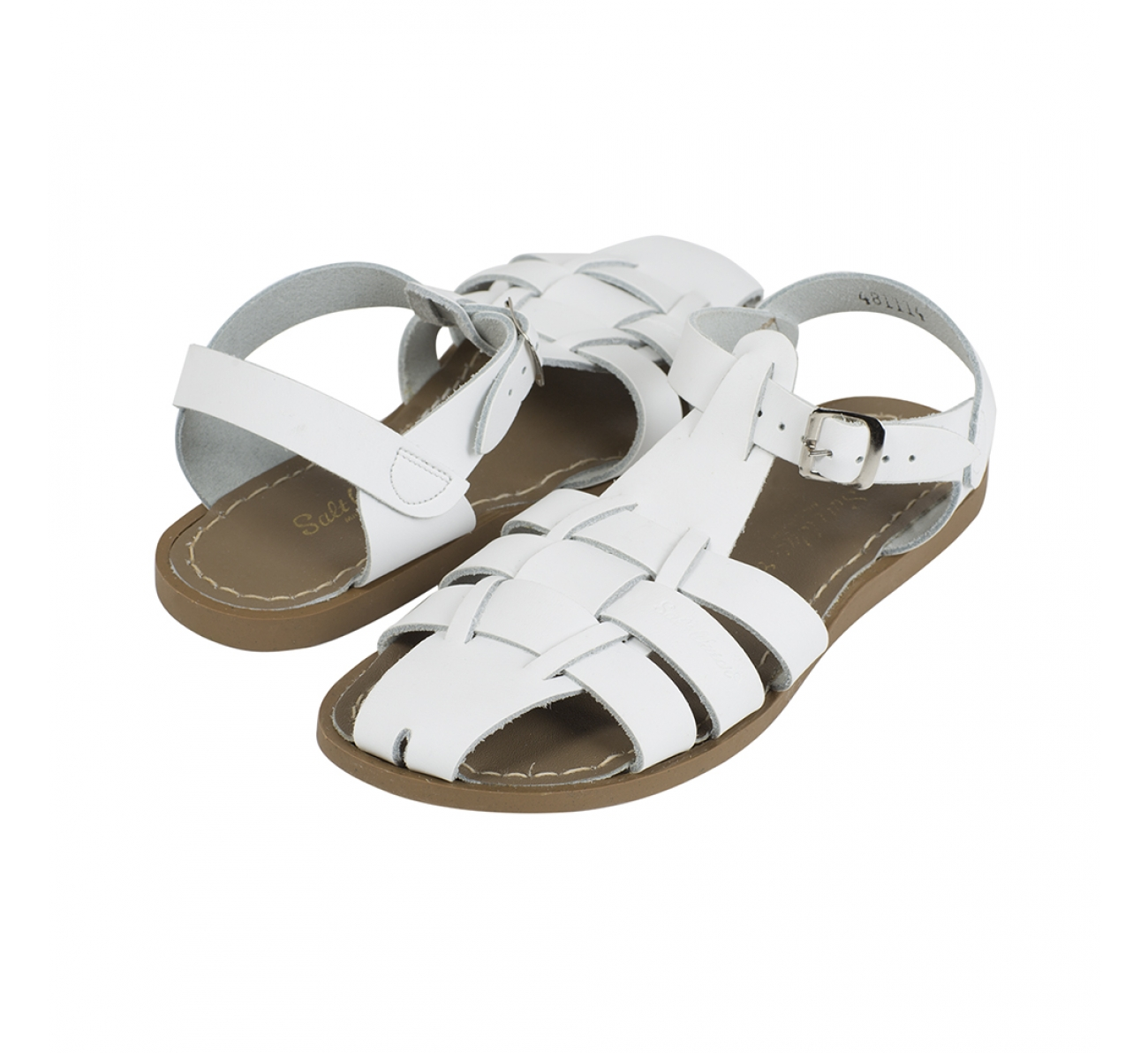 【Salt Water Sandals(ソルトウォーターサンダル)】Shark Original  (Kids)/white白/20cm〜22.4cm