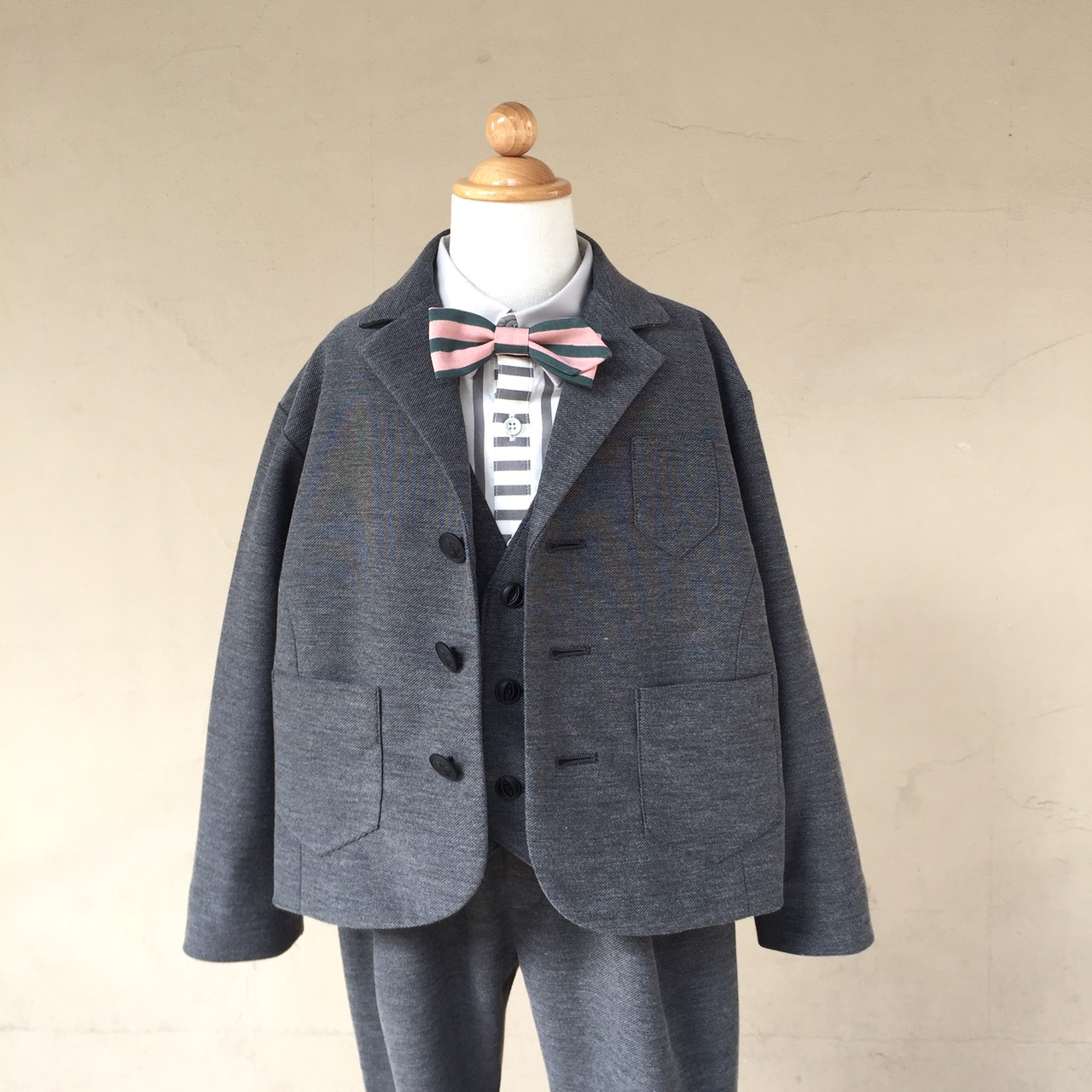 【cokitica】ceremony tailored collar jacket