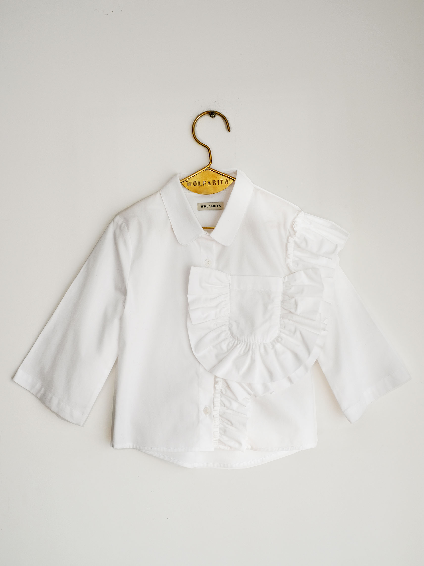 【WOLF & RITA】CAROLINA - Blouse/WHITE