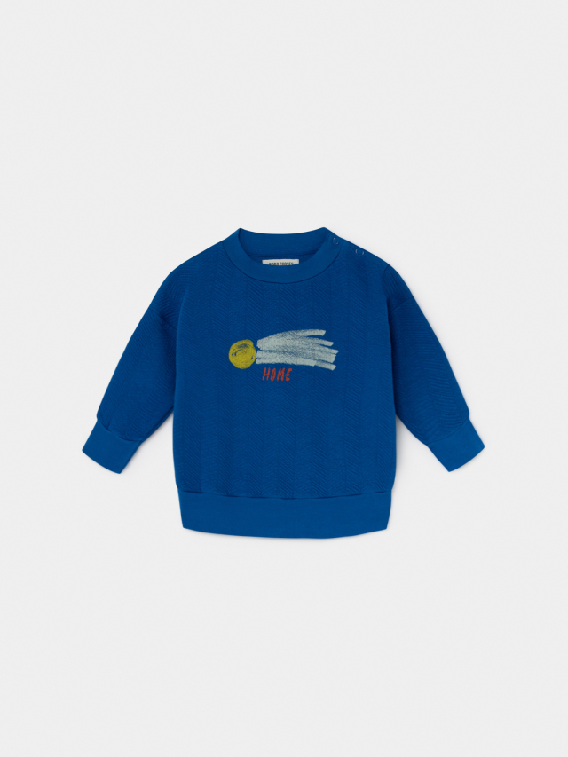 【BOBOCHOSES】219155 A STAR CALLED HOME SWEATSHIRT/baby