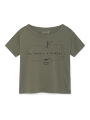 【BOBOCHOSES】119004 Ant and Apple Short Sleeve T-Shirt