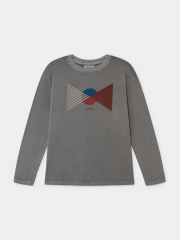 【BOBOCHOSES】219901 Flag Long Sleeve T-Shirt/大人