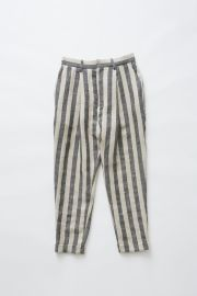 【eLfinFolk】elf-191F55 stripe linen pants