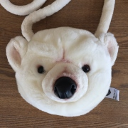 【WILD & SOFT】 Purse Polar Bear