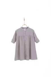 【DONSJE】Jenna Dress Lavender Linen Blend