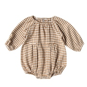 【Rylee & Cru】RC143A/gingham bubble romper