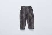 【cokitica】stripe pants/charcoal