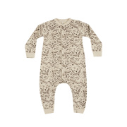【Rylee & Cru(ライリー アンド クルー)】longsleeve jumpsuit_folk birds