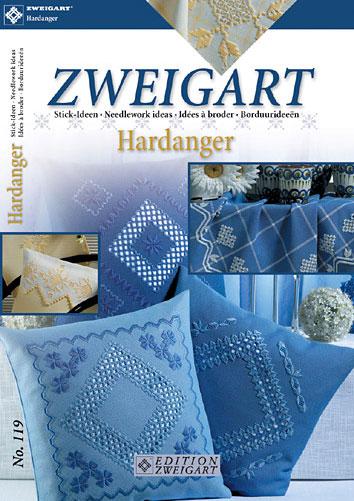 〔Zweigart〕 図案集 Hardanger No.119