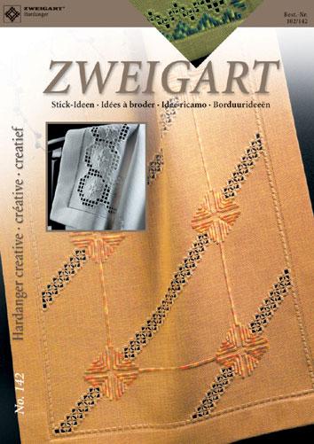 〔Zweigart〕 図案集 Hardanger No.142